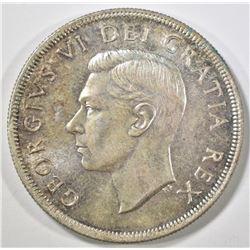 1950 CANADA DOLLAR  GEM BU
