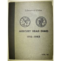 MERCURY DIME SET ONLY MISSING 16-D & OVER DATES