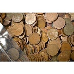 2000-AVE CIRC MIXED DATE LINCOLN WHEAT CENTS