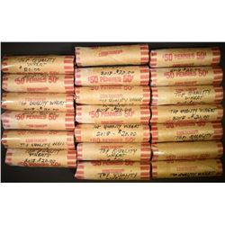 20-ROLLS LINCOLN WHEAT CENTS