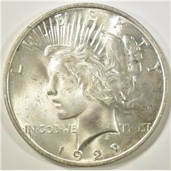 1923 PEACE DOLLAR  GEM BU
