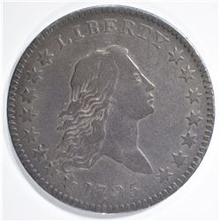 1795 FLOWING HAIR HALF DOLLAR  VF/XF