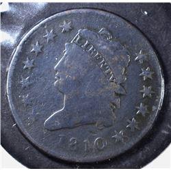 1810 LARGE CENT, VG