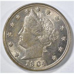 1904 LIBERTY NICKEL BU