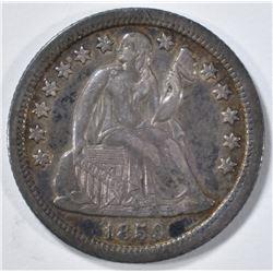 1859-O SEATED LIBERTY DIME XF