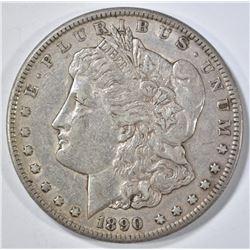 1890-CC MORGAN DOLLAR  XF