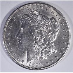 1898-S MORGAN DOLLAR  BU REV SCRATCH