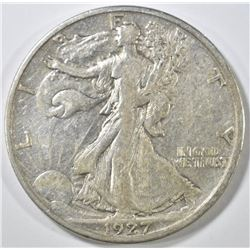 1927-S WALKING LIBERTY HALF DOLLAR  XF