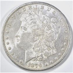 1879-S REV OF 78 MORGAN DOLLAR, BU