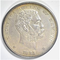 1883 HAWAII DOLLAR AU/BU