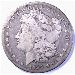1889-CC MORGAN DOLLAR, FINE
