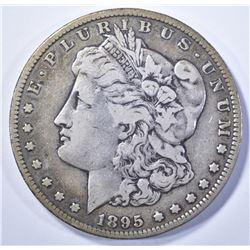 1895-S MORGAN DOLLAR   VF
