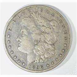 1896-S MORGAN DOLLAR, XF
