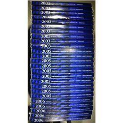 10-2003 10-05 & 5-06 U.S. STATE QUARTER PROOF SETS