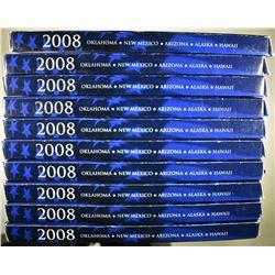 10-2008 U.S. STATE QUARTER PROOF SETS