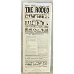 Los Angeles Rodeo Poster