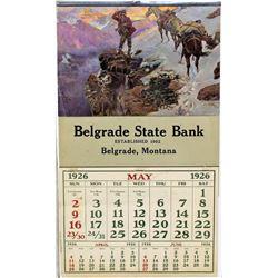 Belgrade Montana Calendar