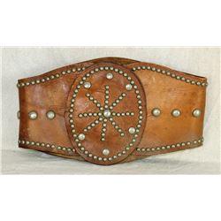 Studded Bronc Belt