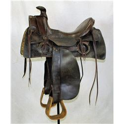 Early Slickfork Saddle
