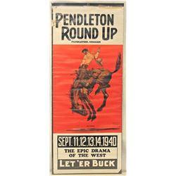 Pendleton Round-Up Poster