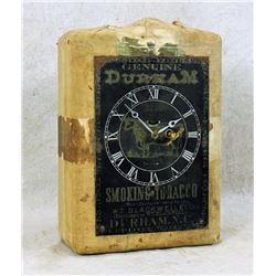 Bull Durham Clock