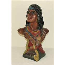 Cigar Store Chalk Indian