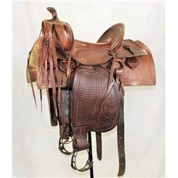 Steelfork Saddle