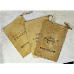 Collection of Wells Fargo Bags