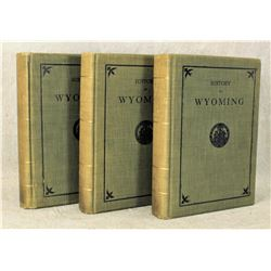 Wyoming History Books