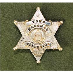 Telluride Marshall's Badge
