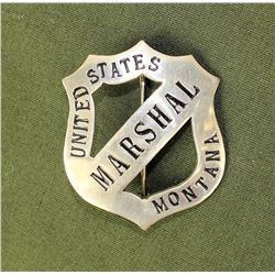 Montana Marshall's Badge