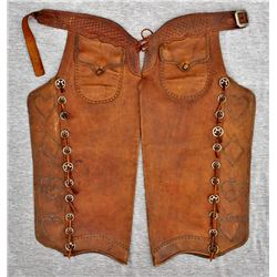Fantastic Studded Batwing Chaps
