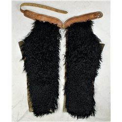 Black Angora Chaps