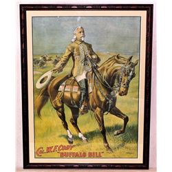 Buffalo Bill Wild West Show Poster