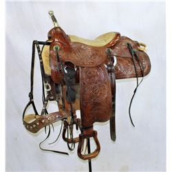 Frank Gilbraith's Trick Saddle