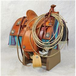 Tad Mitzwa Salesman's Sample Saddle
