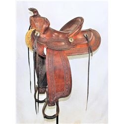 EC Burroughs Saddle