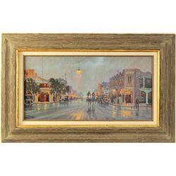 Bill Barber Oil Painting