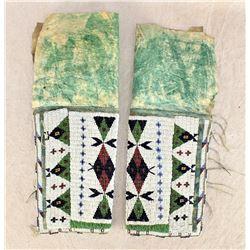 Southern Cheyenne Beaded Leggings
