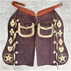 His and Hers Studded Chaps