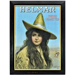 Helmar Tobacco Advertising Poster