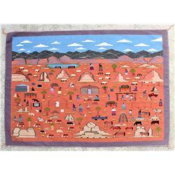 Navajo Pictoral Rug