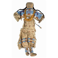 Large Native American Doll