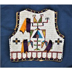 Incredible Childs Beaded Vest