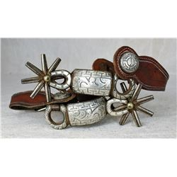 Mexican Silver Spurs
