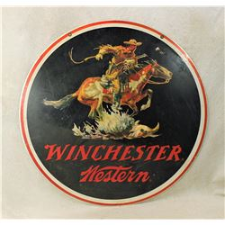 Winchester Advertising Sign