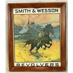 Smith & Wesson Advertising Poster