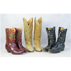 Grouping of Western Boots