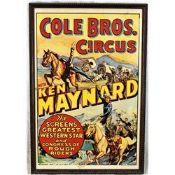 Ken Maynard Poster