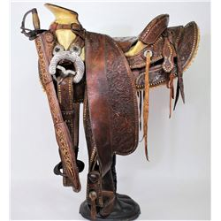 Silver Mexican Saddle